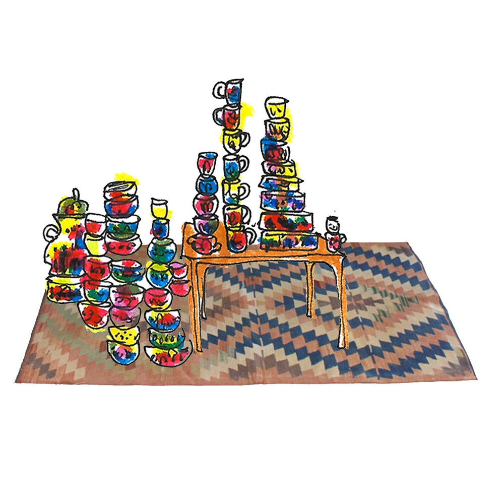 Kilim & Textiles - for the new home owners