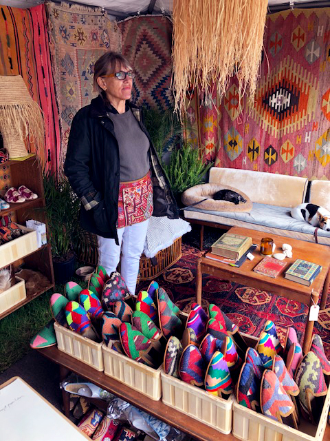 getting ready to sell our Kilim Shoes