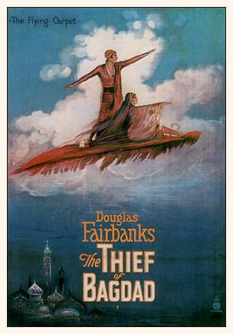 The thief of Bagdad, by Douglas Fairbanks