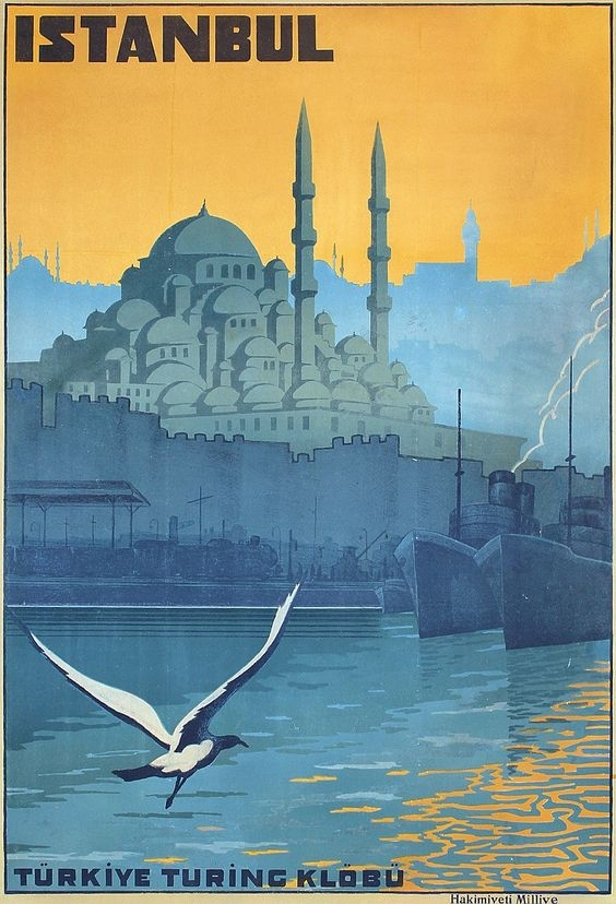 Istanbul poster, from the Artemis mood board