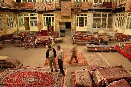 Kilim bazaar in Turkey