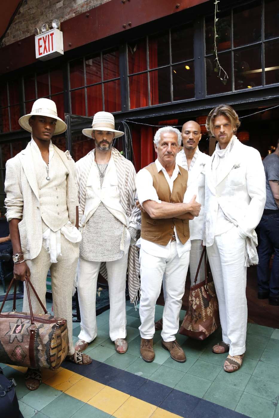 joseph abboud & company ss17 runway show New york city