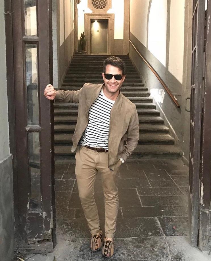 Nate Berkus  Napoli, Italy
