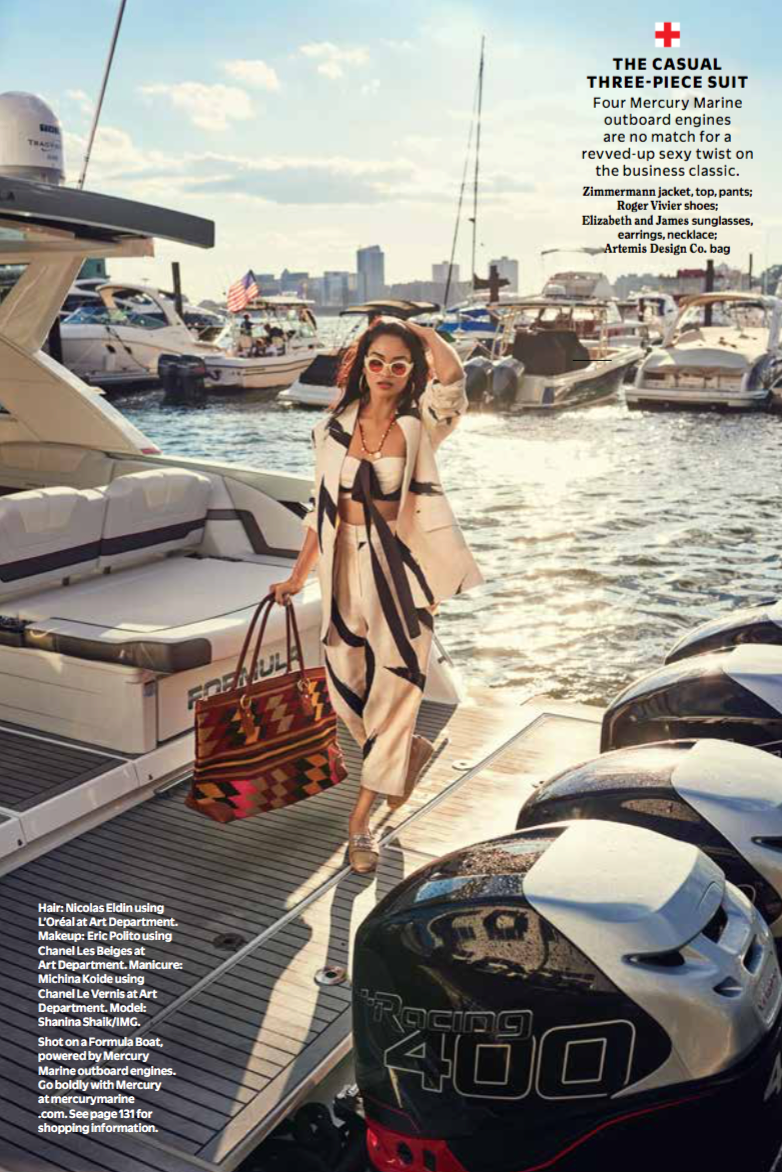 Cosmopolitan Magazine  PHOTOGRAPHER:Erica Ray Davidson  Fashion Director: Aya Kanai