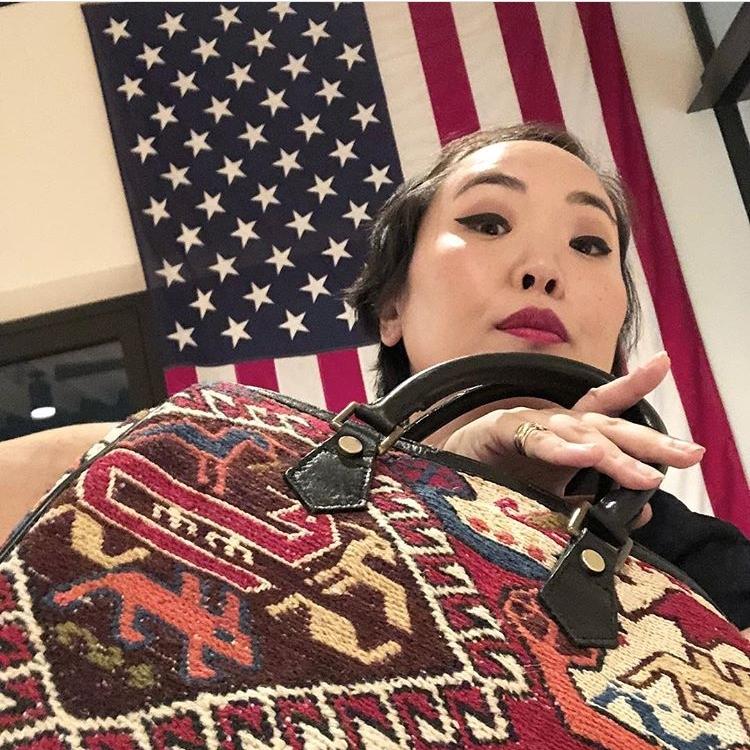 Aya Kanai  Chief Fashion Editor of Hearst Magazines