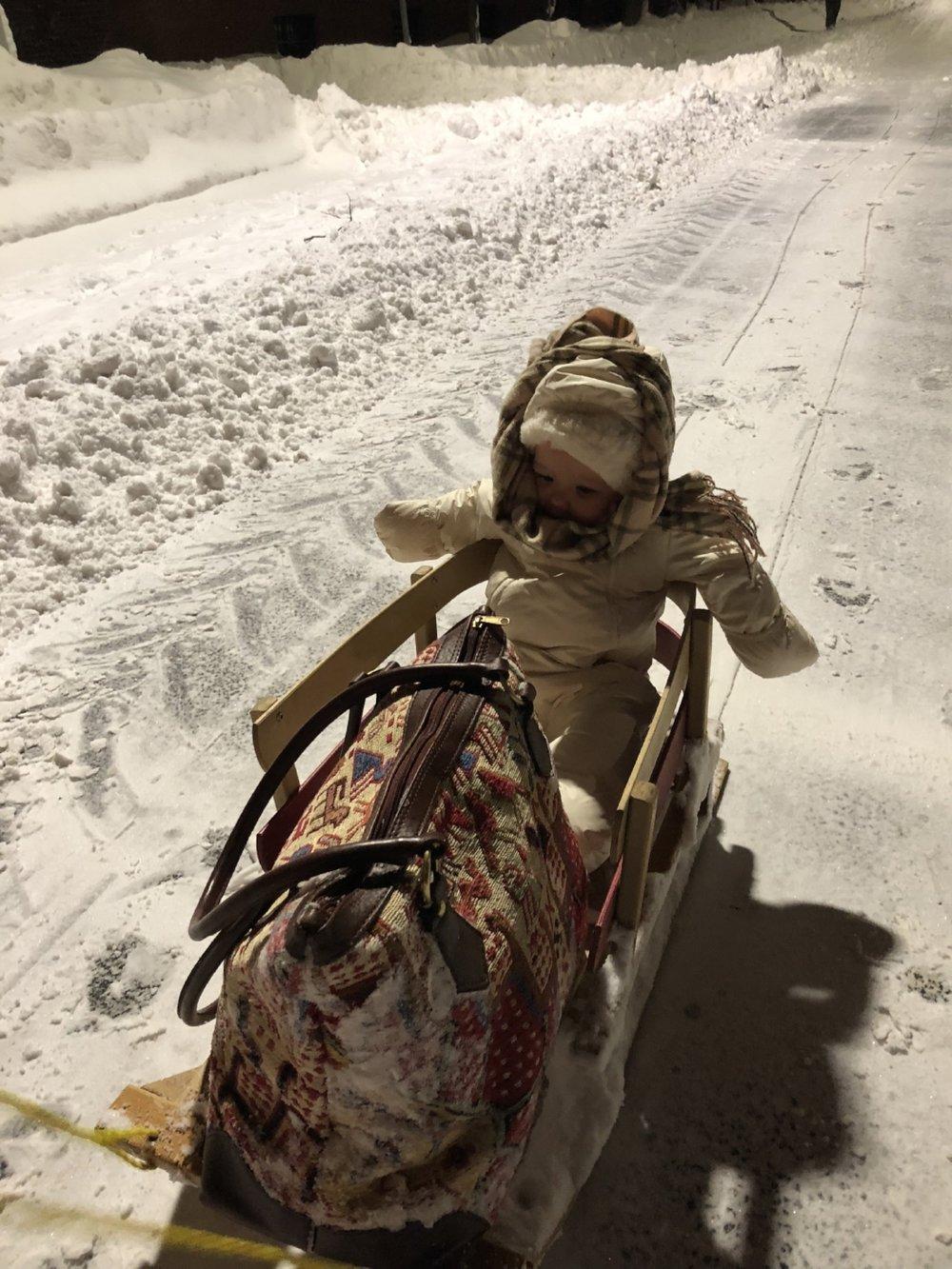 Cecily Robertson  Grayson Blizzard  Boston