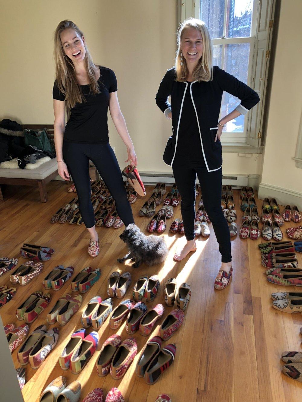 Daisy Robinson & Brooke Phinney  Boston