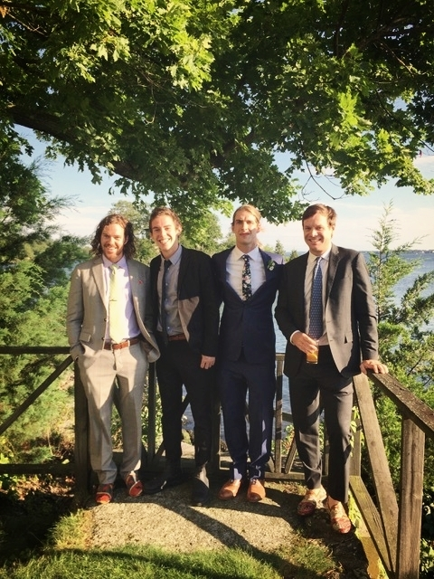 Tom Barrett, Jacob Mcnair,  Mitchell Moore, Brian Gault  Squantum Association- Riverside, RI
