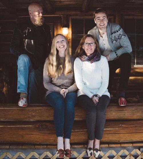 Drew Jessup & Family  Maine