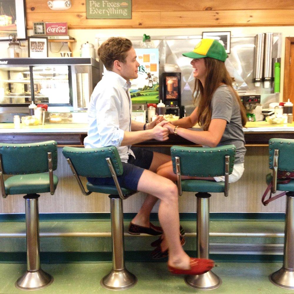 Libby Smith  Drew Jessup  Moody's Diner  Maine