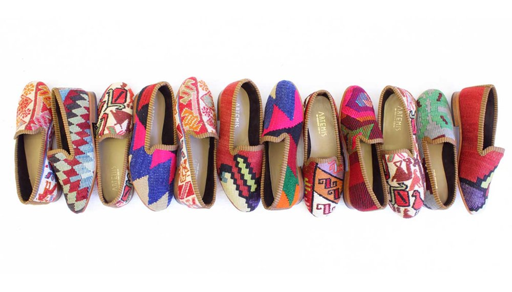 Our full selection of women's Kilim shoes.