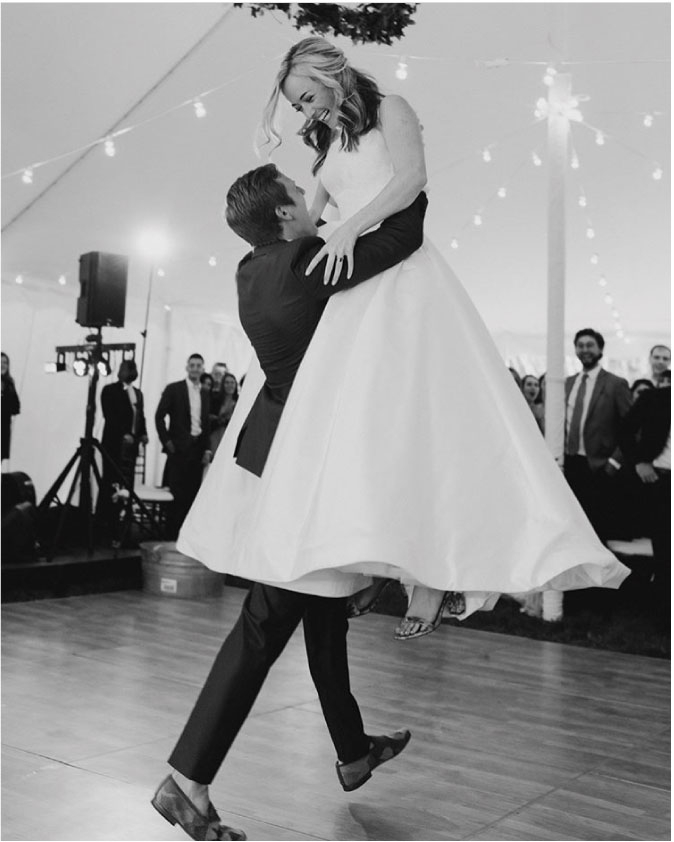 @christinabliss Christina and Alex (in our custom   groomsmen shoes) at their wedding in New Hampshire