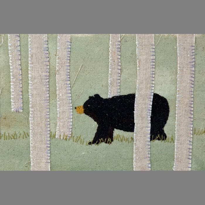 Bear in Aspens