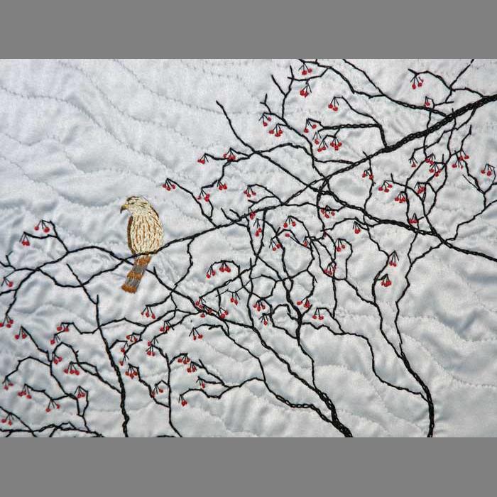 Merlin in Winter