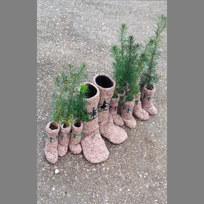 Socks for Seedlings and a Tree Planer