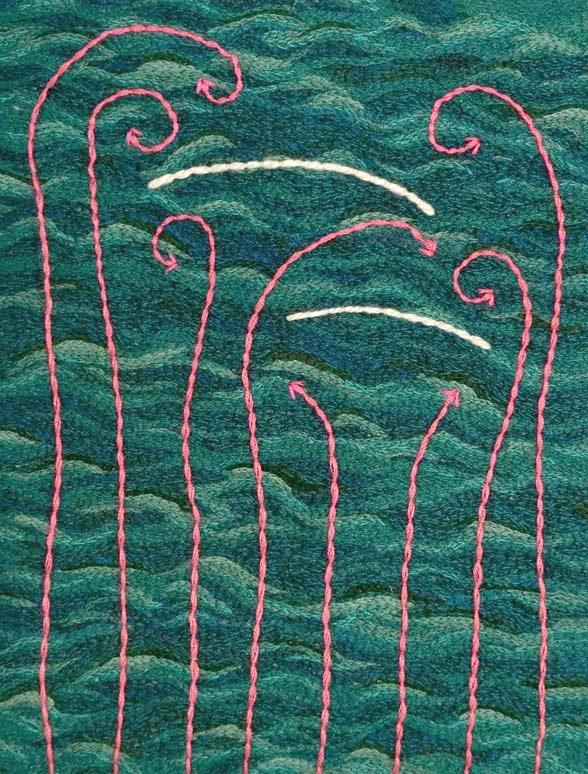 Downwind II, detail