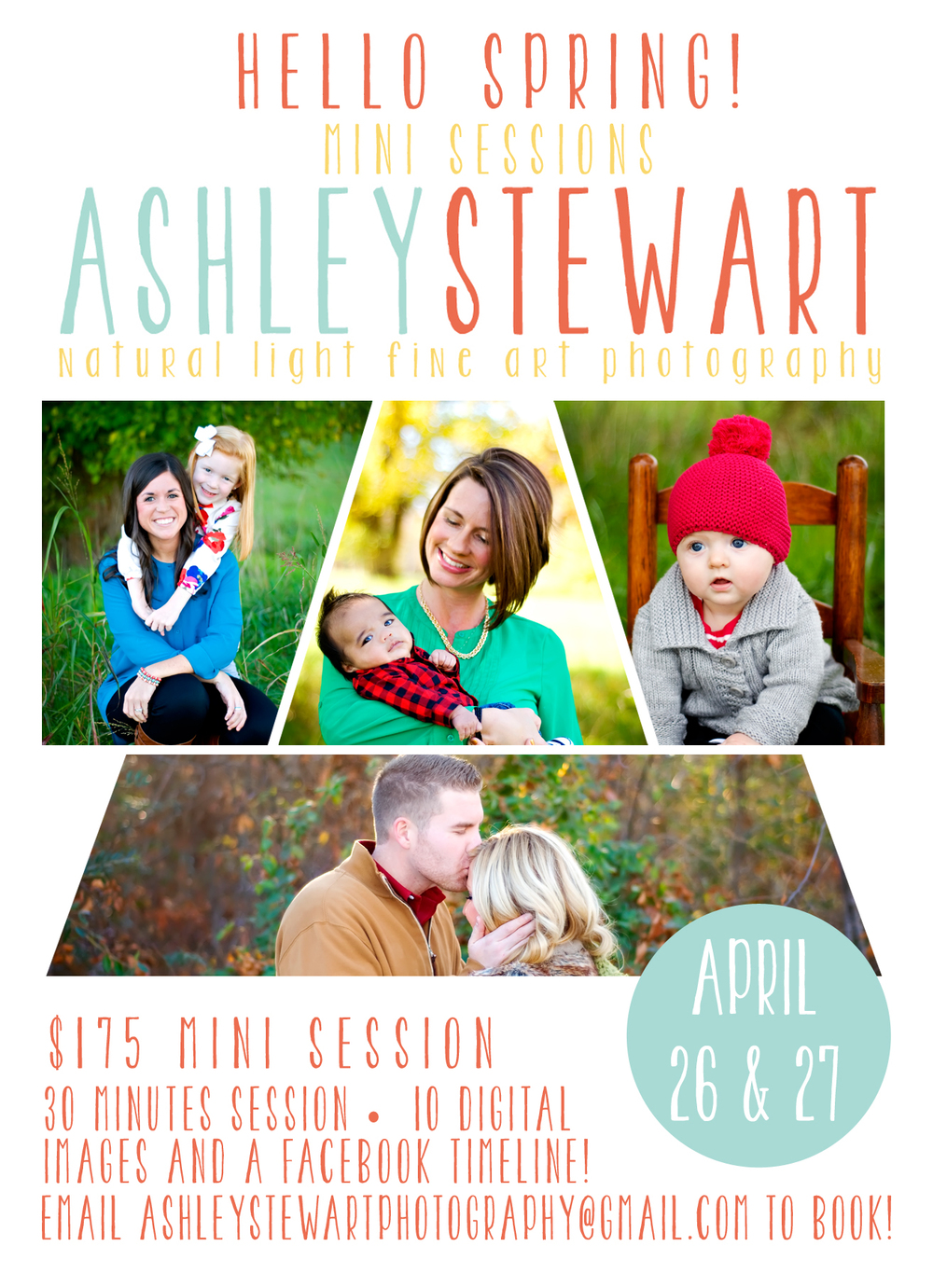 Ashley Stewart Photography Spring Mini Sessions