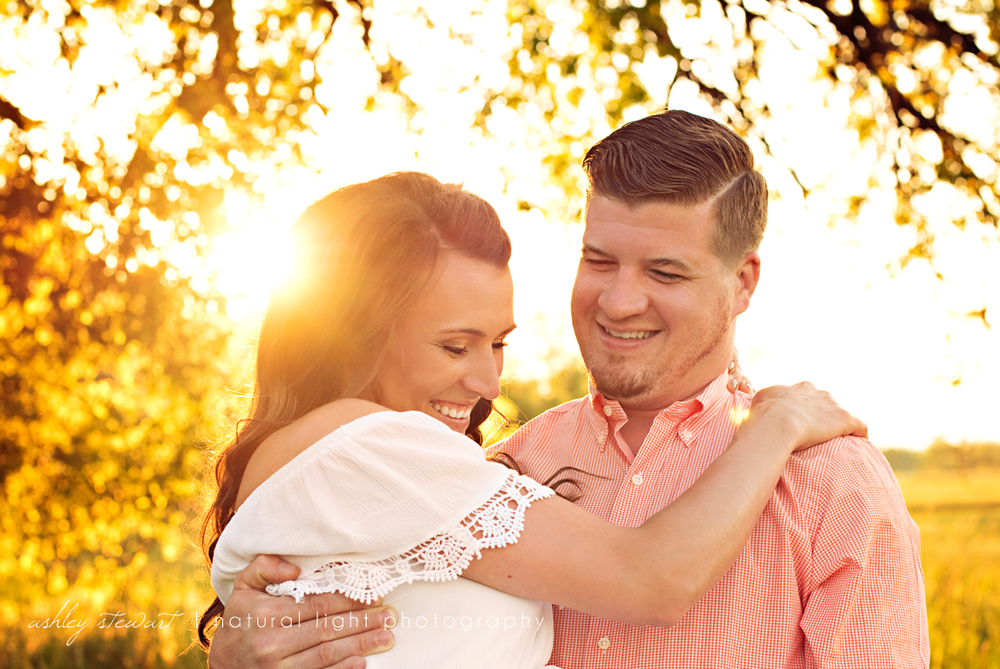 Ashley Stewart Photography Northwest Arkansas Engagement Photographer J and D