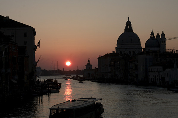 Grand Canal at Sunrise with the Salute Church
