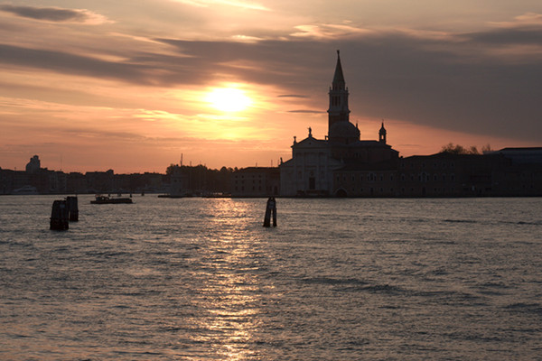 San Giorgio Maggiore near Sunset