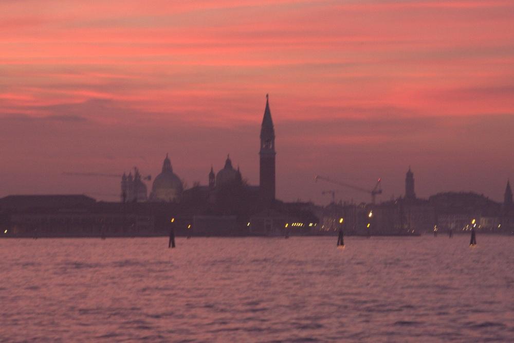 Sunset with San Giorgio Maggiore