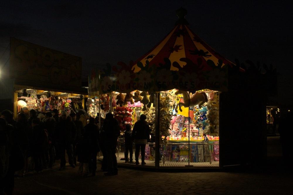 Kiosks at Carnival
