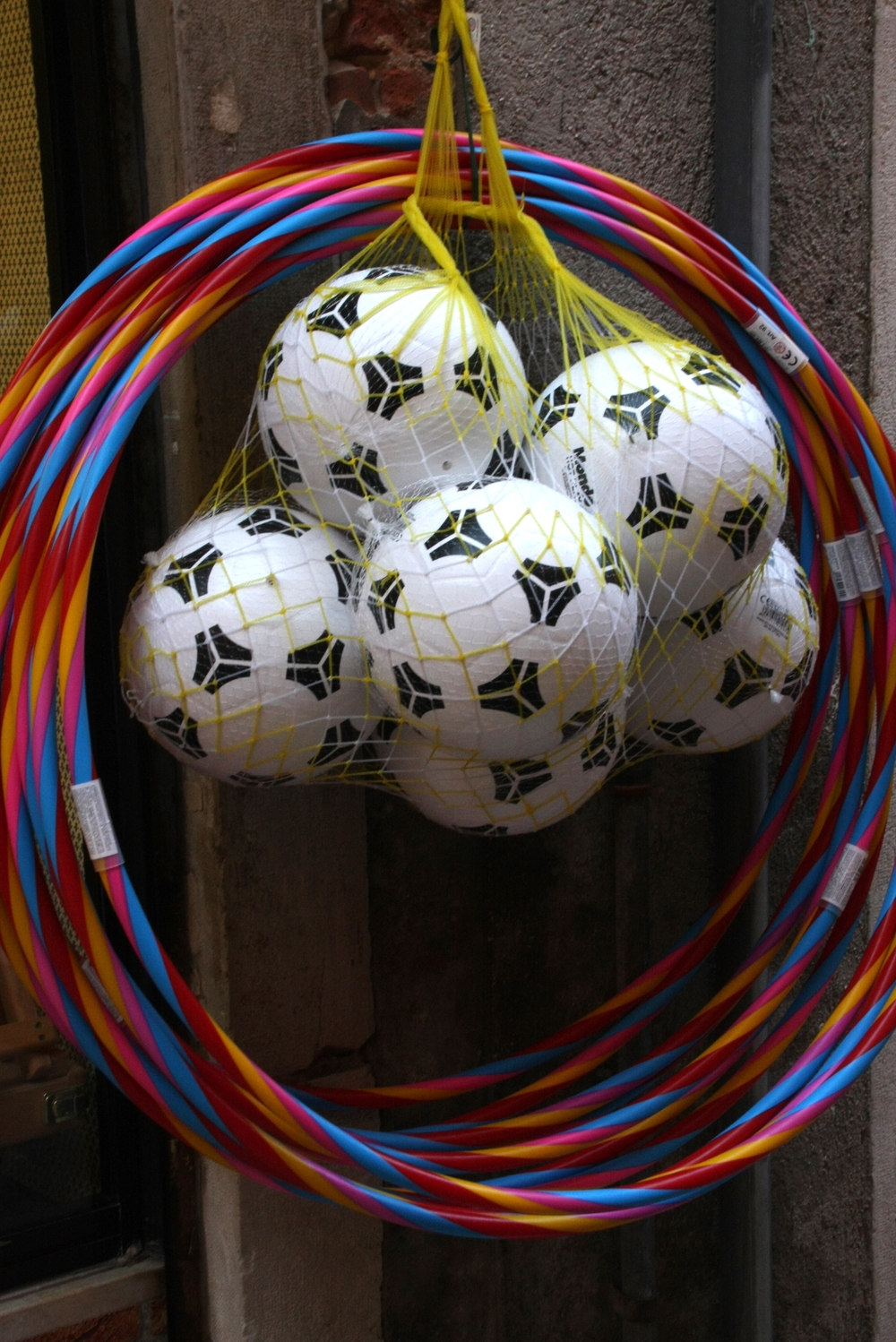 Soccer Balls and Hula Hoops
