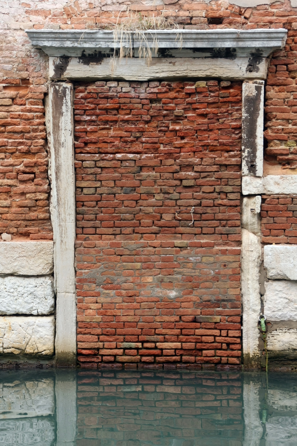 Bricked-in Doorway