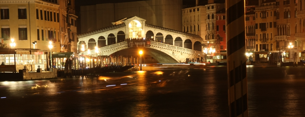 Rialto Bridge at Night