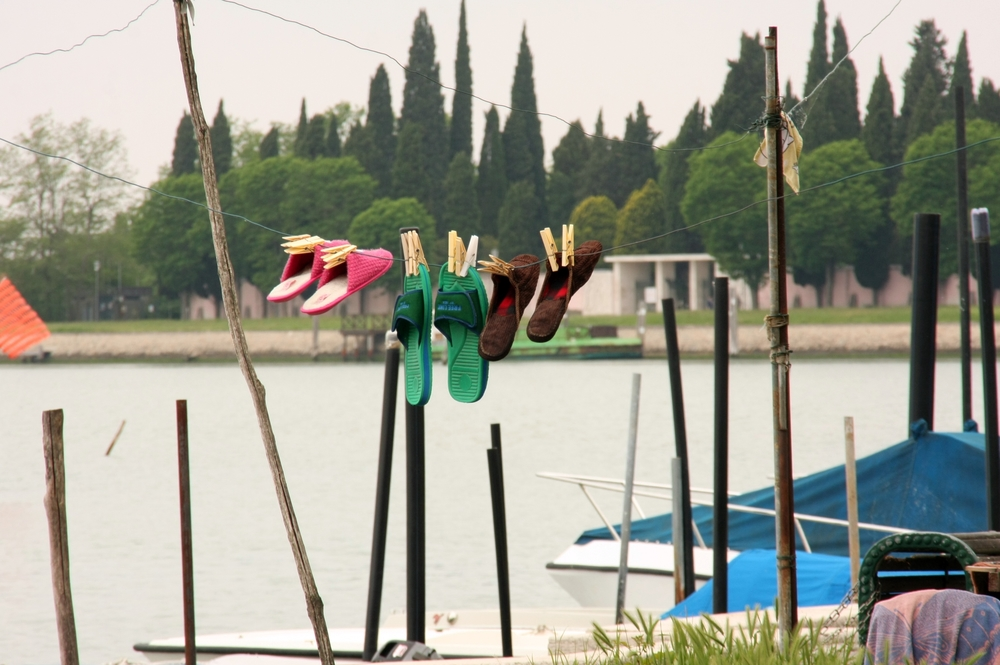Slippers Drying on Burano
