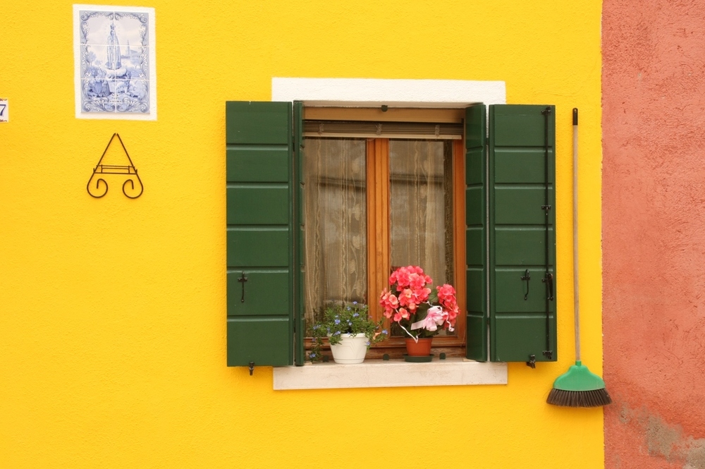 Yellow House on Burano