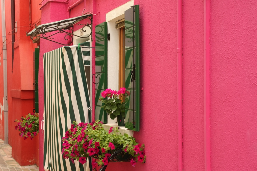 Pink House on Burano