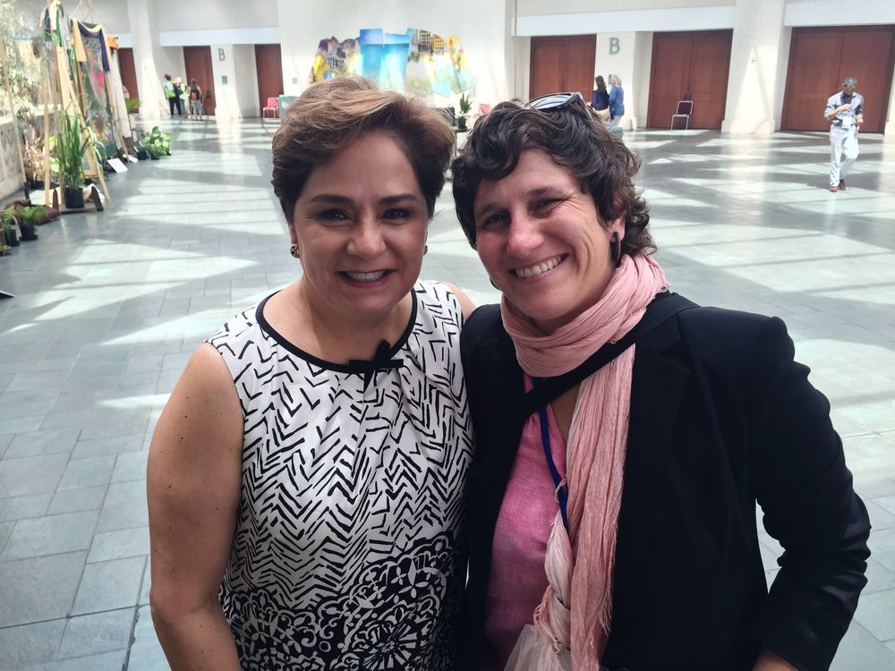 After an interview I produced with Patricia Espinosa, Executive Secretary of the  United Nations Framework Convention on Climate Change  (UNFCCC)