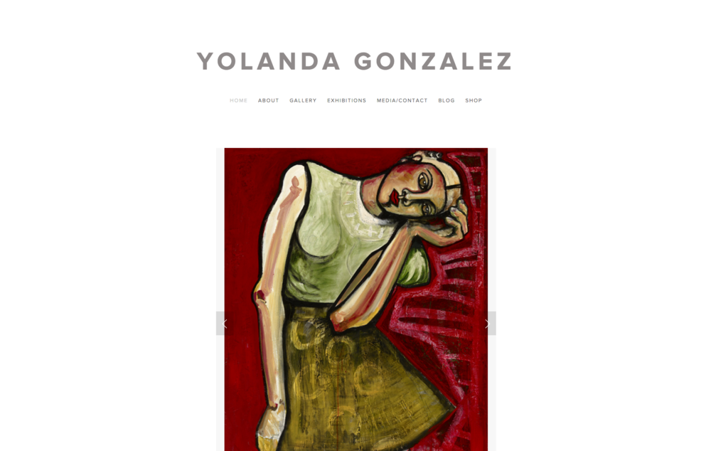 The Art of Yolanda Gonzalez