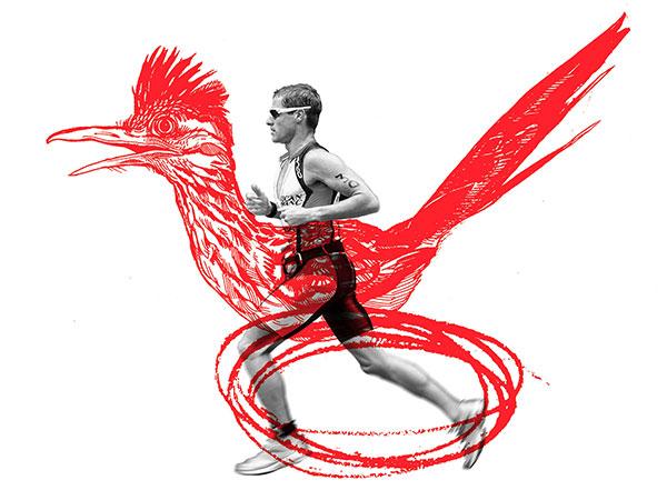 Quarter page Illustration for Triathlete Magazine