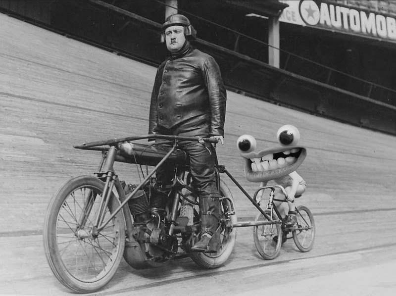 Digital illustration using vintage photograph