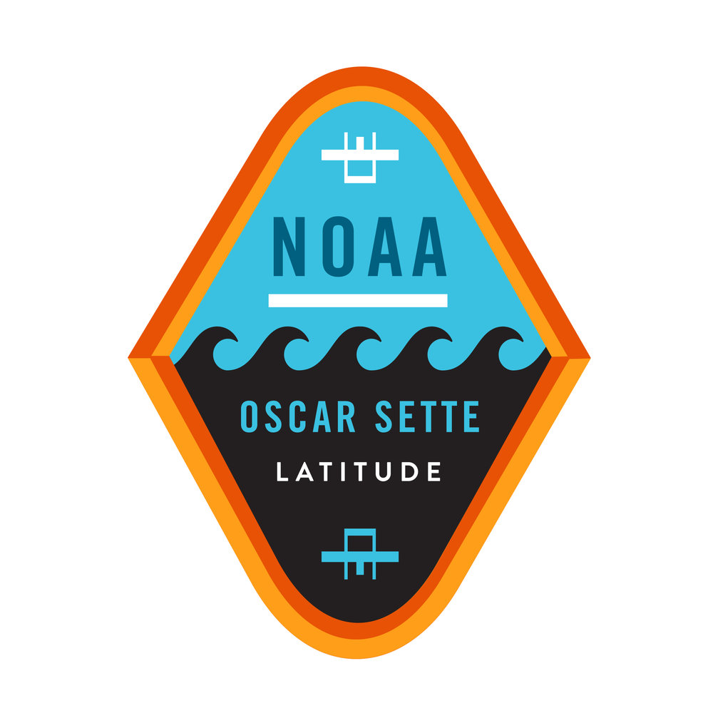 Mission Patch for joint NOAA and Latitude Engineering project