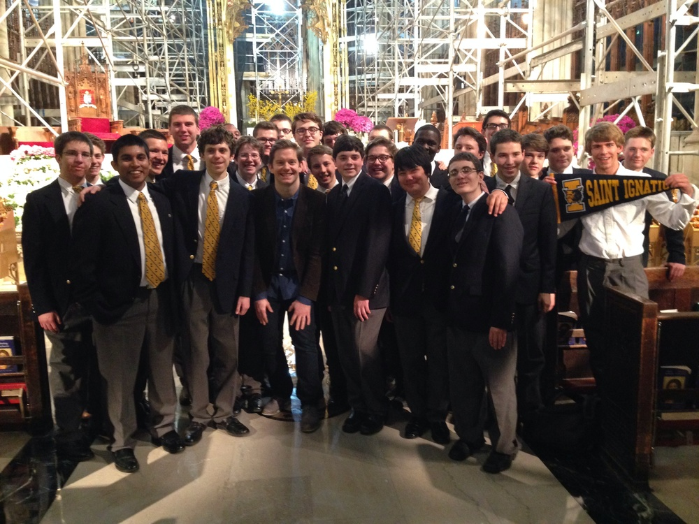 The St. Ignatius High School Choir and Rory