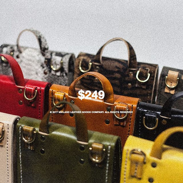 """#Mifland Bedford Bag """"Miffy"""" Starts At $249 Limited Quantities Available Tomorrow  Mifland.com"""