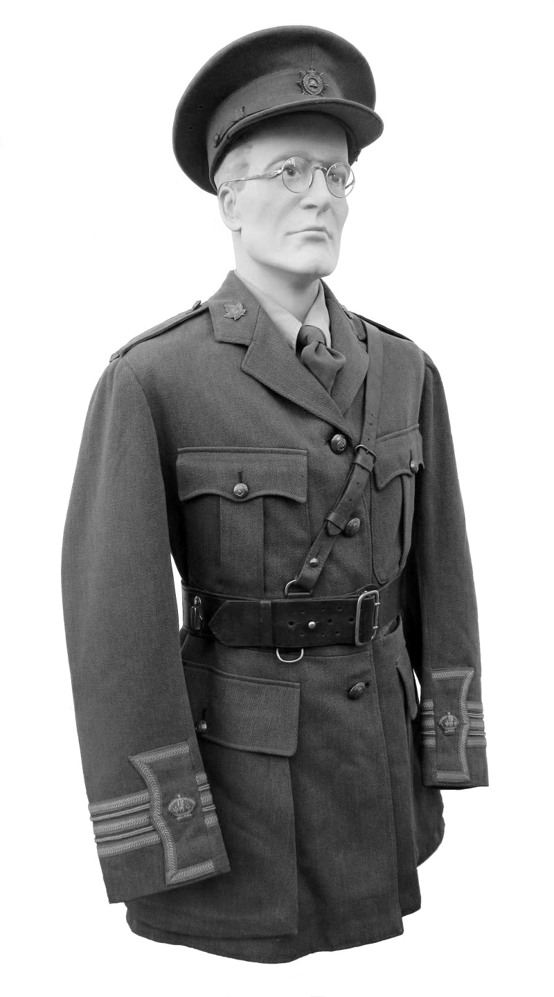 Canadian Army uniform with the Sam Browne belt