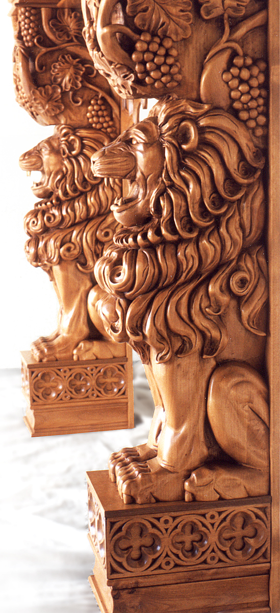 Custom Lion Fireplace.jpg