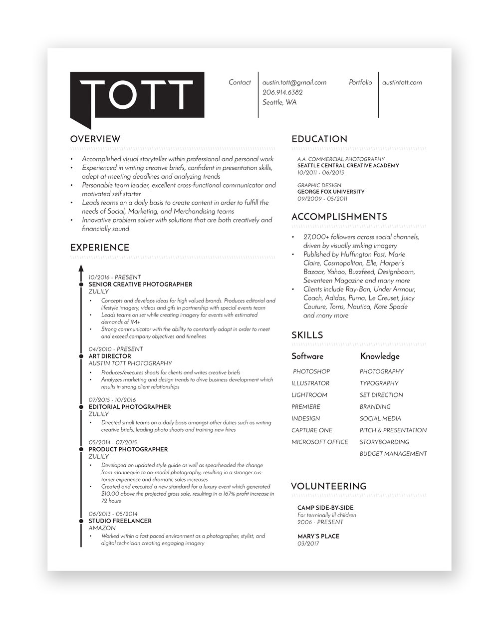Resume — Tott