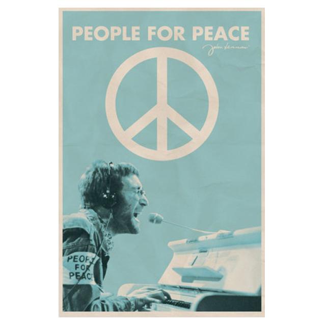 Poster på John Lennon  från All Posters, 63 kronor.