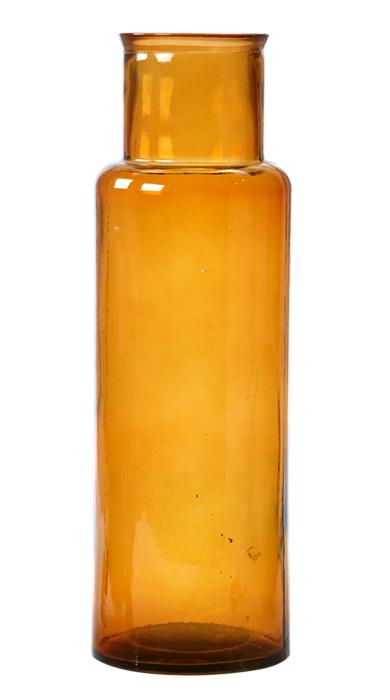 Vas i brunt återvunnet glas från Mio, 249 kr. Finns i tre olika storlekar.