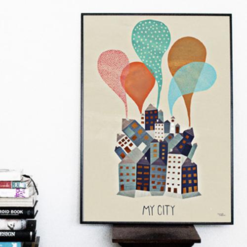 Postern Min stad,   259 kr.