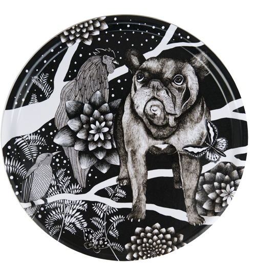 Den franska hunden, diameter 38 cm, 409 kr, Nadja Wedin/ Nordic design collective.