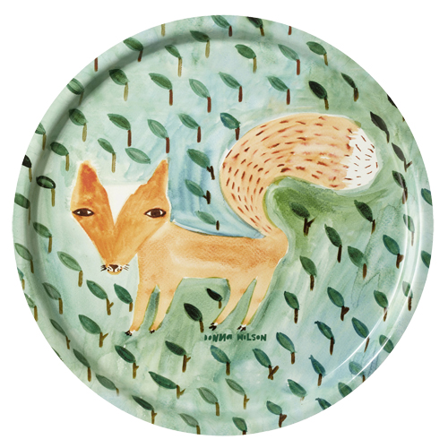 Fox in the leaves, diameter 36 cm, 425 kr, Donna Wilson.