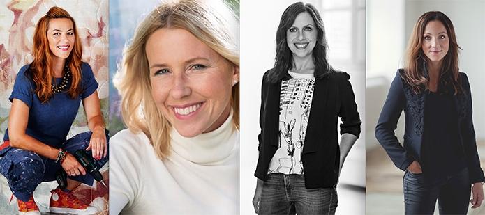 Isabelle, Jannice, Maria och Frida driver några av Sveriges största och populäraste inredningsbloggar. Här bjuder de på en trendspaning inför 2016.