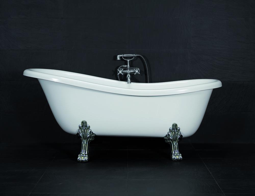 Badkar i klassisk stil, är det något för dig? Du som är prenumerant kan vinna badkaret på bilden!