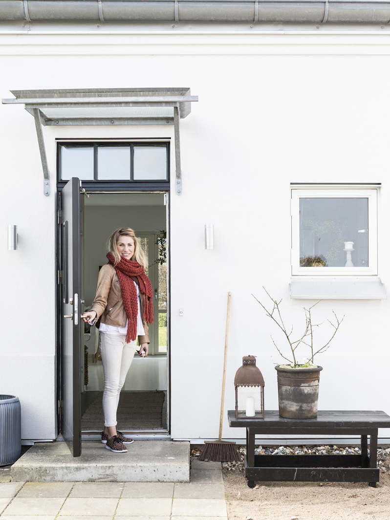 Ulrica Gath njuter i fulla drag av sitt hus.